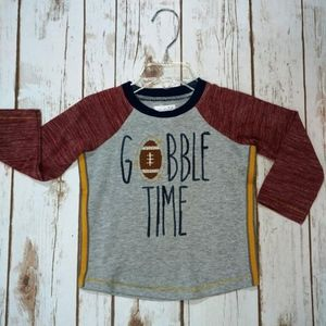 Gobble Time Thanksgiving Football Shirt